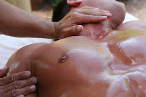 Gay full body massage