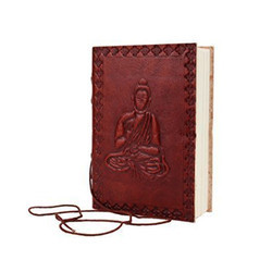 Leather Buddha Journal Cover