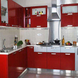 L Shaped Modular Kitchen Modular Kitchen Apis Interiors
