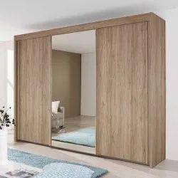 Wooden Sliding Door Wardrobe