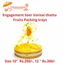 Seer Varisai Thattu Fruits Packing Trays