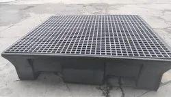Oil Drums Spill Kit Pallets, Dimension/Size: 1300 X 1300 X 310mm