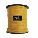 Golden Mosaic Metallic Round Leather Cord