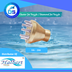 Fountain Cluster Jet Nozzle, Diamond Jet Nozzle - HA-266