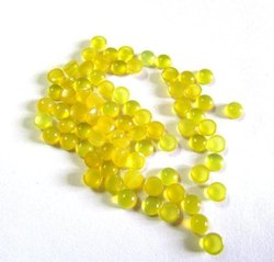 Yellow Chalcedony Cabochon