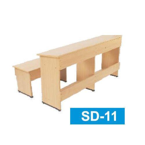 Solid Wood Student Desk