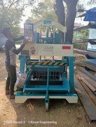 Semi- Automatic Hydraulic Concrete Block Making Machine