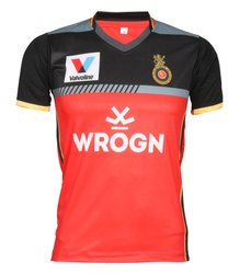 New Royal Challengers Bangalore 2019 IPL Jersey with all Logos