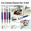 H-352 4 In 1 Screen Cleaner Ball Pen