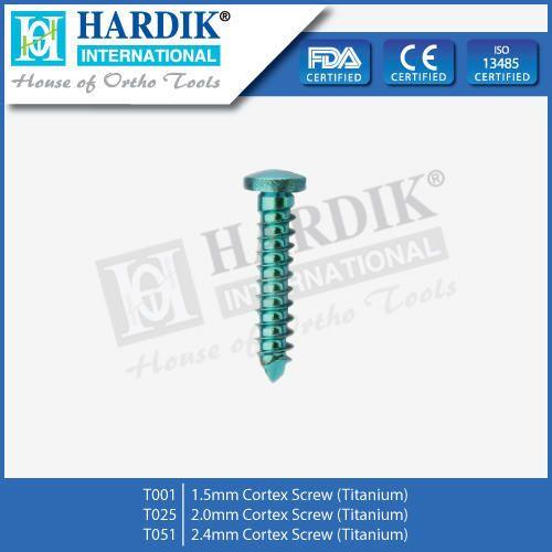Cortex Screw (Titanium)