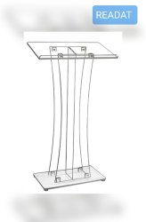 READAT acrylic podium