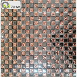 Olive Mosaic Glass Kitchen Mosaic Tiles 6 8 Mm Rs 250 Square Feet Olive Mosaic Id 20313637430