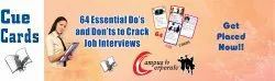 English Que cards for job seekers, Latest Edition, Neelima Vinod