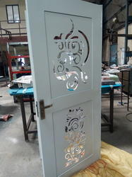 Sheet Metal Safety Door