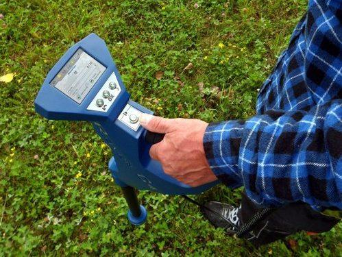 Gold Metal Detector OKM Rover C4 Metal Detector and 3D Ground Scanner