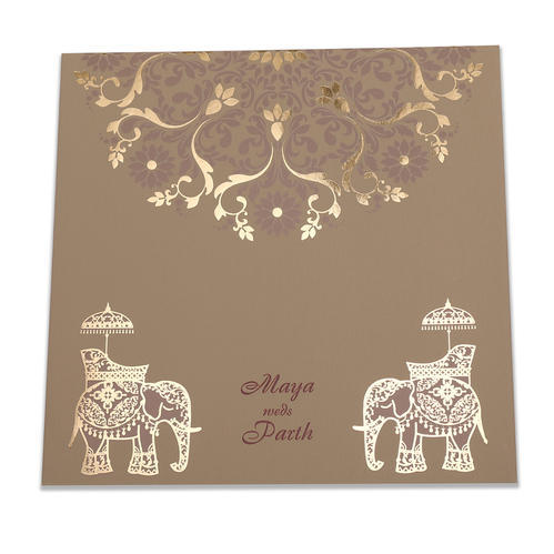 Paper Pull Out Traditional Wedding Card Designs From Jimit Card Rs