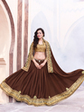 Royal Brown Color Saree