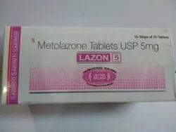 Lazon 5mg Metolazone