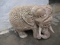 Stone Carving Home Decorative Elephant