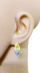Rupakshara Golden Casual Stone Studded Tops For Women