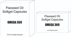Omega 3-6-9 Flaxseed Oil Softgel Capsules