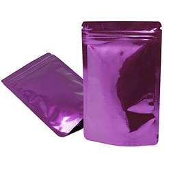 Plain Stand Up Zipper Pouches