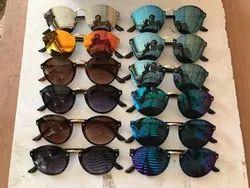 New Fashion Semi Rimless Polarized Sunglasses