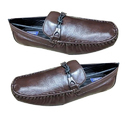 Mens Brown Leather Formal Shoes, Size: 6-14