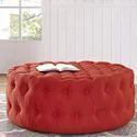 Polyester Round Large Ottoman Pouffe Extra Soft Sitting Sofa Sitting
