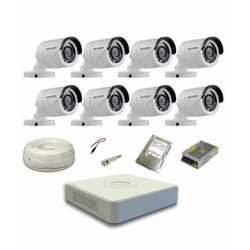 Hikvision Digital Camera DVR Surveillance System, 15 to 20 m