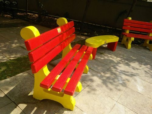 Enjoyable Benches Frp Wooden Design Garden Bench Manufacturer From Pune Bralicious Painted Fabric Chair Ideas Braliciousco