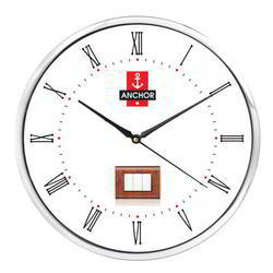 White Wall Clock For Promotional Gift