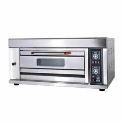 1 Deck With 2 Tray Modern Stone Bakery Gas Oven