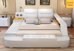 Leather Smart Bed