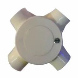 Round PVC Deep & Surface Junction Box White, Size: 25 mm, for Electrical Fitting