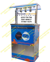 3 Nozzle Panipuri Machine With Stand