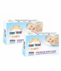 White Baby Soap, Packaging Type: Box