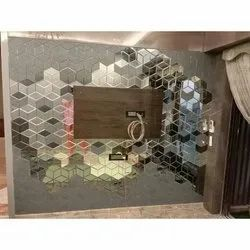 Toughened Decorative Wall Glass, For Decoration