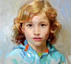 Portrait, Size: 18 X 24 Inch