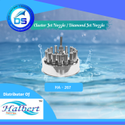 Fountain Cluster Jet Nozzle , Diamond Jet Nozzle - HA-267