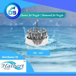 Fountain Cluster Jet Nozzle , Diamond Jet Nozzle - HA-267