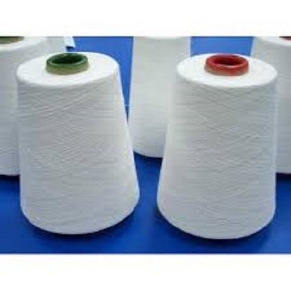 Polyester Spun Yarn, Usage : Weaving, Knitting & Industrial Applications