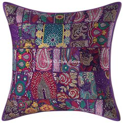 Embroidered Cushion Covers