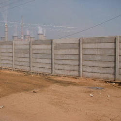 Industrial Compound Wall