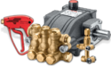 Diesel Water Jet Machine