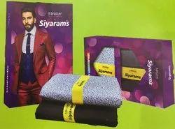 Siyaram Suiting Shirting Fabric Combo Pack PERK