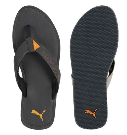 Gray Men Puma Netava 3 DP Flip Flop c43414969
