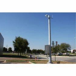 Camera Support Street Pole