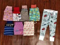 Multicolor Girls Night Pant