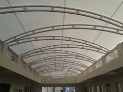 Tensile Roofing Structure for Terrace